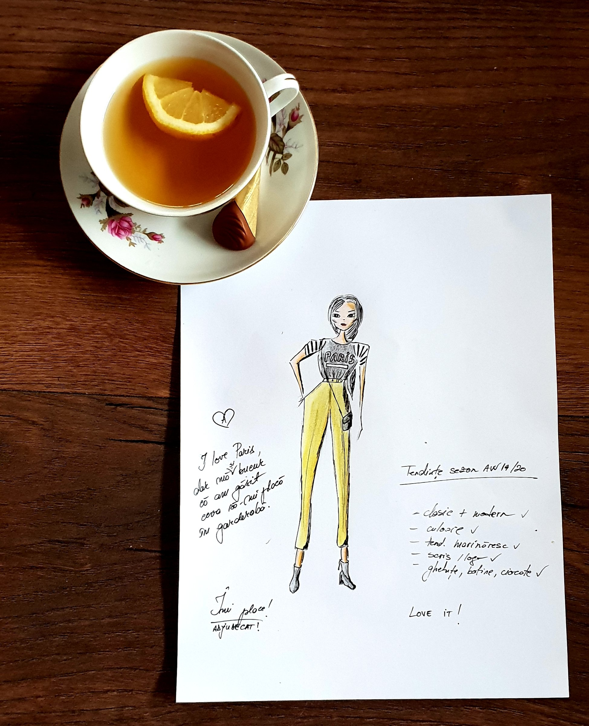 tinuta design vestimentar answear, inspirata de answear, sezon toamna iarna 2019 - 2020